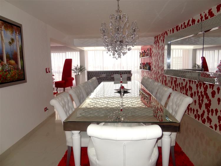 """""""Penthouse es una habitación de lujo situada en Perú con una decoración exclusiva, de lujo y ostentación.""""  Penthouse, lujo y ostentación lujoso penthouse 4JPG"""