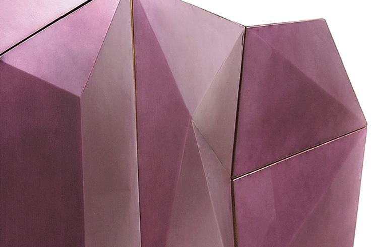 """""""Diamond perteneciente a la colección Edición limitada de la Firma Boca do Lobo y combina técnicas artesanales con diseño contemporáneo.""""  Diamond, obra de arte contemporánea Diamond1"""