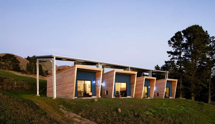 """""""La firma de arquitectos Arquitectura CCS ha completado el Diane Middlebrook Memorial Building en Woodside, California, EE.UU.""""  Diane Middlebrook, Edificio Memorial Foto 115"""