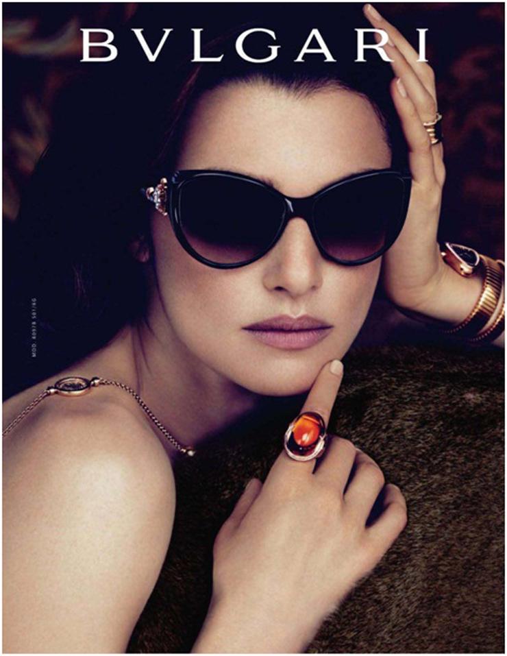 """""""La colección """"Le Gemme"""" de Bvlgari, es una colección sin precedentes. Gafas de sol con monturas que lucen exultantes, oro y piedras preciosas.""""  Bvlgari, Le Gemme Foto 19"""