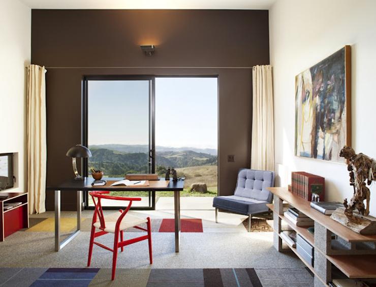 """""""La firma de arquitectos Arquitectura CCS ha completado el Diane Middlebrook Memorial Building en Woodside, California, EE.UU.""""  Diane Middlebrook, Edificio Memorial Foto 213"""