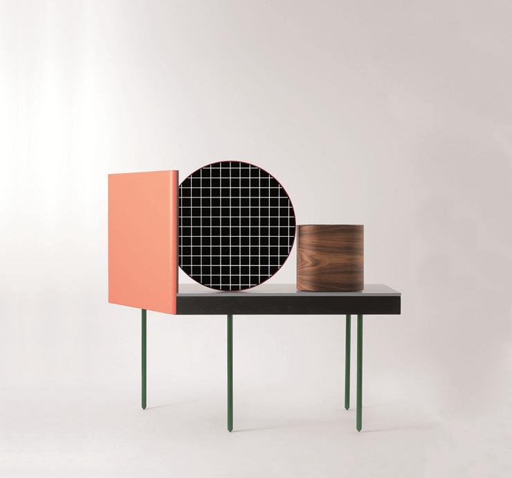 """""""El nombre de este moderno tocador es Chandlo, y es un diseño de los creadores británicos del estudio Doshi & Levier para el proyecto Das Haus 2012.""""  BD Barcelona Design, Tocador Chandlo Foto 27"""