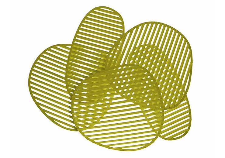 """""""La lámpara de pared o aplique Nuage, del diseñador italiano Philippe Nigro se inspira idealmente en el Optical Art, movimiento artístico de vanguardia de la década de los sesenta.""""  Philippe Nigro, Lámpara de pared Nuage Foto 314"""