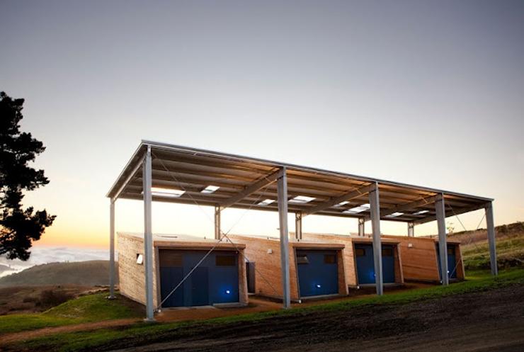 """""""La firma de arquitectos Arquitectura CCS ha completado el Diane Middlebrook Memorial Building en Woodside, California, EE.UU.""""  Diane Middlebrook, Edificio Memorial Foto 315"""