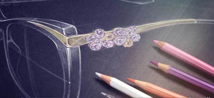 """""""La colección """"Le Gemme"""" de Bvlgari, es una colección sin precedentes. Gafas de sol con monturas que lucen exultantes, oro y piedras preciosas.""""  Bvlgari, Le Gemme Foto 39"""
