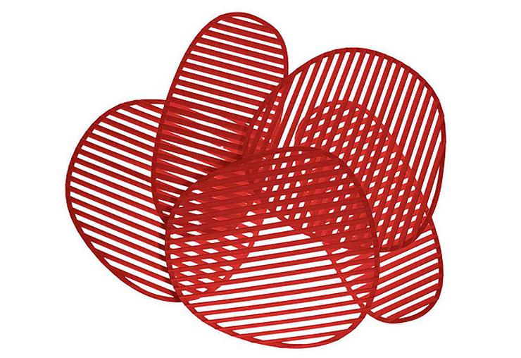 """""""La lámpara de pared o aplique Nuage, del diseñador italiano Philippe Nigro se inspira idealmente en el Optical Art, movimiento artístico de vanguardia de la década de los sesenta.""""  Philippe Nigro, Lámpara de pared Nuage Foto 414"""