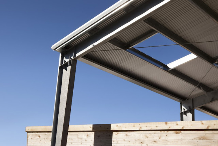 """""""La firma de arquitectos Arquitectura CCS ha completado el Diane Middlebrook Memorial Building en Woodside, California, EE.UU.""""  Diane Middlebrook, Edificio Memorial Foto 415"""