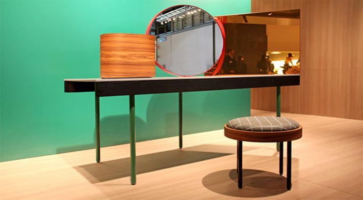 """""""El nombre de este moderno tocador es Chandlo, y es un diseño de los creadores británicos del estudio Doshi & Levier para el proyecto Das Haus 2012.""""  BD Barcelona Design, Tocador Chandlo Foto 49"""