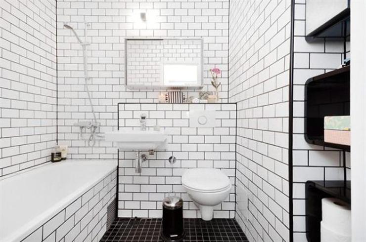azulejo negro loft Pinterest Negro, Azulejos bao y