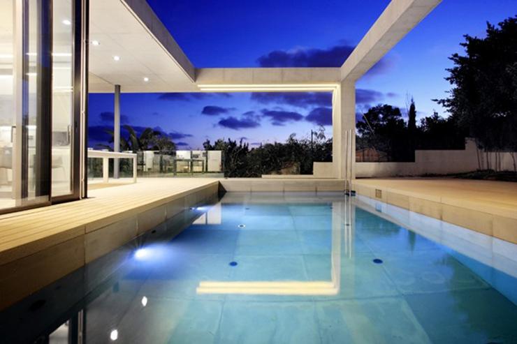 Casa minimalista, Costa d'en Blanes
