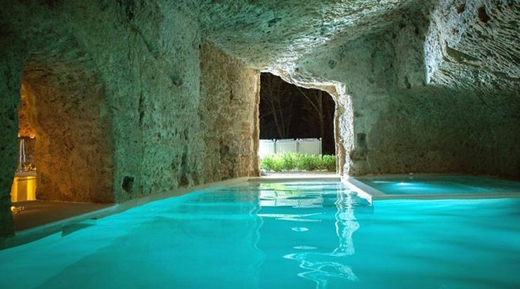 """""""Domus Civita, un hotel que había sido un refugio medieval del siglo XIV que ha sido restaurado y es administrado por el arquitecto Patrizio Fradiani."""" Hotel Domus Civita Hotel Domus Civita Foto 313"""