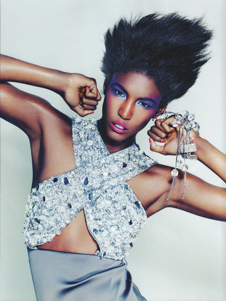 """""""Sessilee López jamás pensó que su sueño de ser modelo se llegaría a realizar. Hija de una madre soltera de origen dominicano, fue criada en un hogar donde lo único que no faltó fueron las ganas de triunfar.""""  Sessilee López, la nueva Naomi Foto 41"""