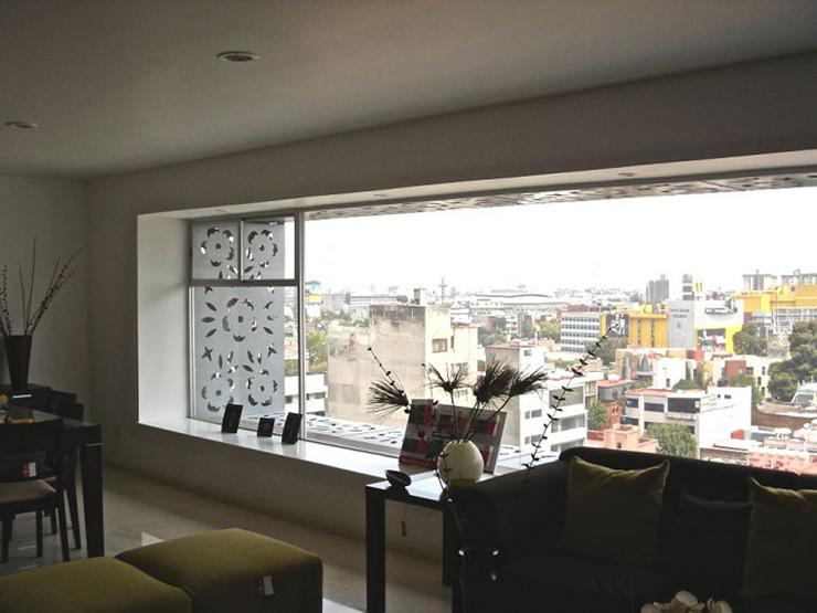 """""""El proyecto consistió en la remodelación de un edificio de oficinas construido en 1981, para ser convertido en un edificio habitacional con 23 departamentos.""""  Edificio Liverpool, México Foto 44"""