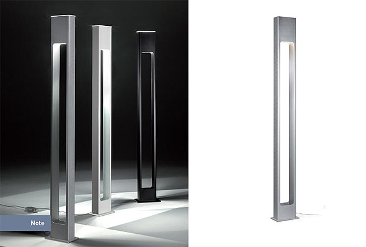 """""""Con una estética urbana y contemporánea, la lámpara Note se inspira en los elegantes ambientes nocturnos en los que los aromas de la bossanova y el jazz se enfatizan con los cócktails, proporcionando al espacio una seductora atmósfera de confort.""""  Alma Light, Note Foto 511"""