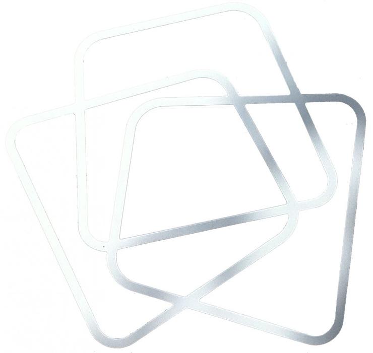"""""""Jean-Baptiste Sibertin-Blanc ha creado una colección en HI-MACS para la muestra: una consola, un espejo y una lámpara de neón.""""   Tres nuevos productos en HI-MACS Ca"""