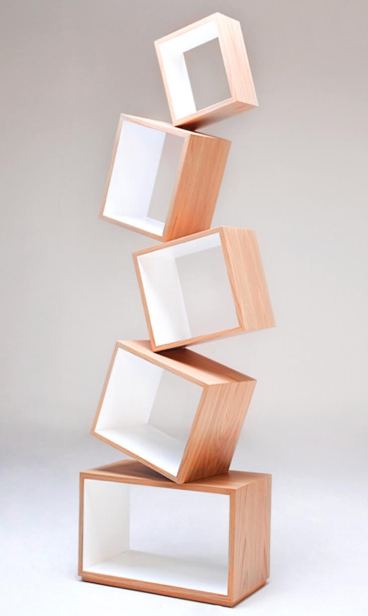 """""""La Biblioteca Equilibrium es una pieza escultórica que demuestra que una biblioteca puede tener dinamismo, lo mismo que encontramos en los libros, y en las historias.""""  Biblioteca Equilibrium Equilibrium2"""