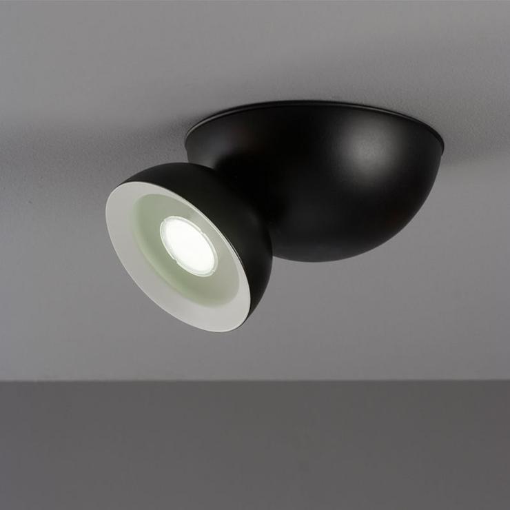 """""""Aplique que permite dirigir la luz sobre 360º alrededor de su eje rotacional.""""  Aplique de pared Namaka Foto 02"""