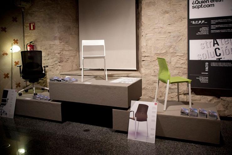 """""""Actiu ha participado en las actividades incluidas en la Barcelona Design Week, un evento que promueve FAD, asociación fundada en 1903 para el fomento de las Artes y del Diseño.""""  Actiu en Barcelona Design Week 2012 Foto 211"""