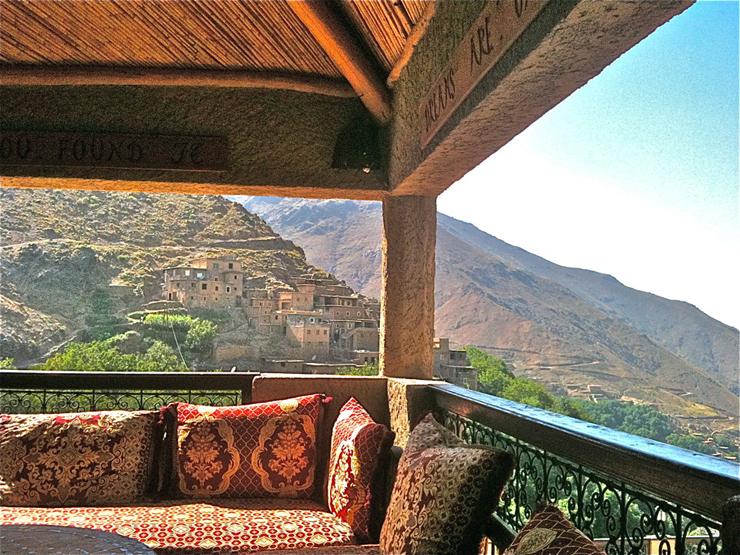 """""""El Hotel Kasbah du Toubkal se encuentra en las montañas de Marruecos. Este hotel es en realidad una gran casa tradicional donde se podrá vivir la auténtica experiencia Bereber.""""  Kasbah du Toubkal Foto 29"""