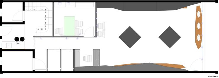 """""""La tienda de ropa Loja Mazzo está dirigida a un público masculino, y ha surgido a partir de todos sus conceptos. Un proyecto al encargo de Studio Buzetti + Arquitetura.""""  Loja Mazzo Foto 3"""
