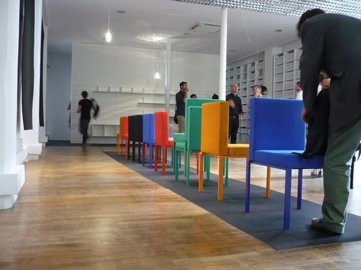 """""""JeanNouvelDesign, el estudio de diseño que lidera el arquitecto francés Jean Nouvel, presentó durante la pasada edición de la Paris Design Week su nueva colección de muebles. Entre ellos, la silla Oxymore.""""  Silla Oxymore para JeanNouvelDesign Foto 38"""