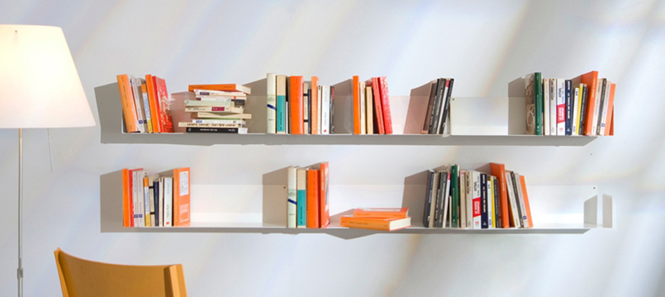 TEEbooks, el estante de pared de diseño Feautured7