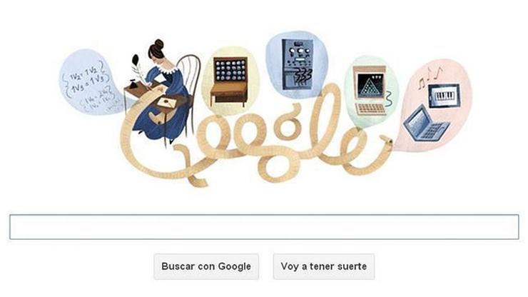 """""""Google rinde homenaje en su doodle a Ada Lovelace, un personaje que merece la pena conocer: matemática de formación, esta mujer ingeniosa, hija del poeta Lord Byron, sentó las bases del lenguaje de programación e intuyó las posibilidades del computador.""""  Ada Lovelace, la primera programadora Foto 13"""