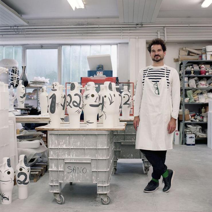 """""""BD pone a la venta una colección limitada de jarrones pintados a mano por Jaime Hayon para celebrar su 40 aniversario."""" La colección Showtime de Jaime Hayón Foto 62"""