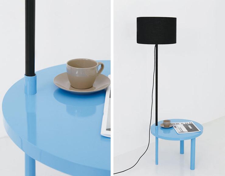 """""""La serie A Intersection B es una obra del diseñador coreano Kim Myung Hyun. Y es una colección de muebles que se pueden encajar de distintas formas, para ser utilizado de manera que se adapte a cada una de las situaciones.""""  A Intersection B, muebles para espacios pequeños lamparapie"""