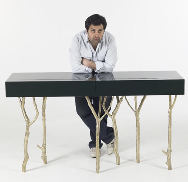 """""""Presentada recientemente en el London Super Brands, la nueva y fantástica colección de muebles del extraordinario diseñador Pedro Sousa, el diseñador portugués, que lleva la fusión entre lo natural y moderno a un nuevo nivel de expresión."""" La nueva collection, Earth to Earth, de Pedro Sousa pedrosousa"""