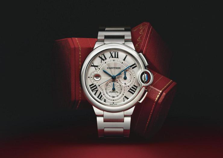 """""""Combinando el tradicionalismo con la tecnología contemporánea de primera clase, la serie Ballon Bleu de Cartier, está obligada a nunca pasar de moda.""""  Reloj Ballon Bleu de Cartier 00011"""