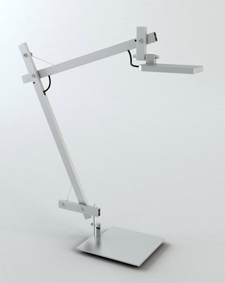 """""""La lámpara LoTek nace de la tradición, por eso es una lámpara evolucionada.""""  La lámpara LoTek 01 lotek gris"""