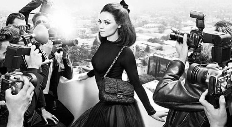 """""""La actriz es la nueva imagen de la firma de moda, que acaba de lanzar los visuales de su campaña de primavera/verano 2012.""""  Mila Kunis para Dior Foto 21"""