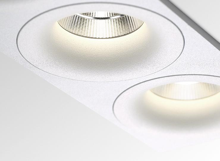 """""""REO de Delta Light es una nueva generación de la tecnología LED empotrables con una luz potente y cálida.""""  REO de Delta Light Reo 2"""