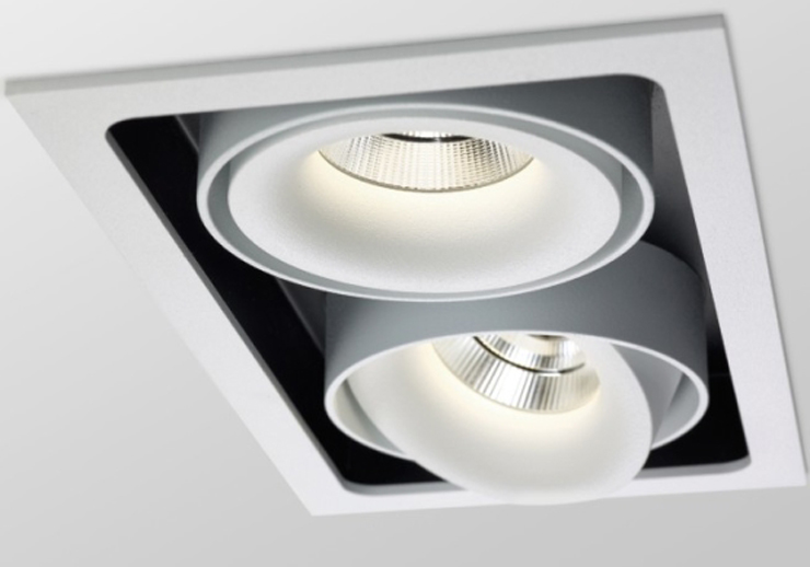 """""""REO de Delta Light es una nueva generación de la tecnología LED empotrables con una luz potente y cálida.""""  REO de Delta Light Reo 3"""