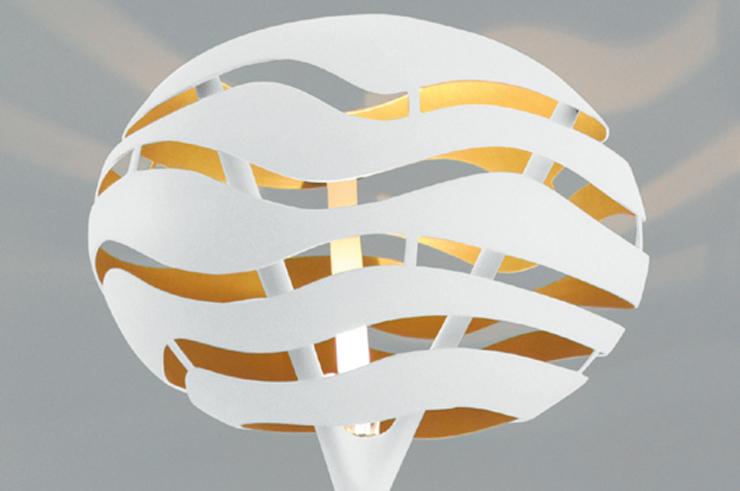 """""""Luminarias con sello del diseñador Werner Aisslinger.""""  Werner Aisslinger diseña para B.lux Werner Aisslinger TREE SERIES F 04BLUX"""
