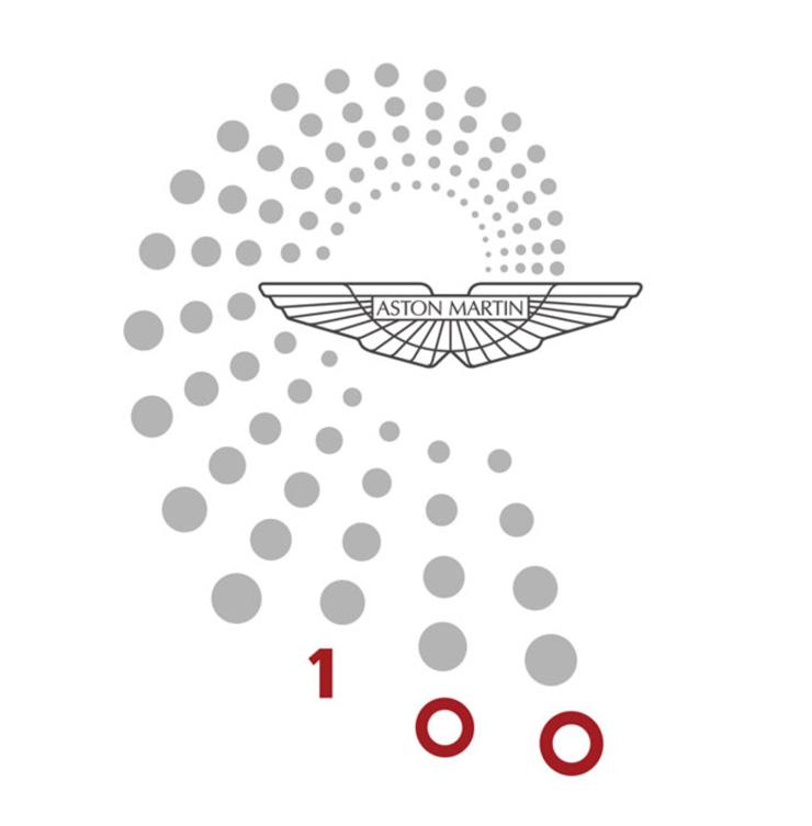 """""""La marca Aston Martin celebra su primero centenario, con una agenda de celebraciones entre 15 de Enero y el 21 de Julio y muchas actividades y sorpresas.""""  100 años Aston Martin astonlogo"""