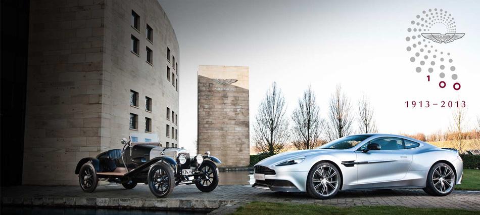 """""""La marca Aston Martin celebra su primero centenario, con una agenda de celebraciones entre 15 de Enero y el 21 de Julio y muchas actividades y sorpresas."""""""