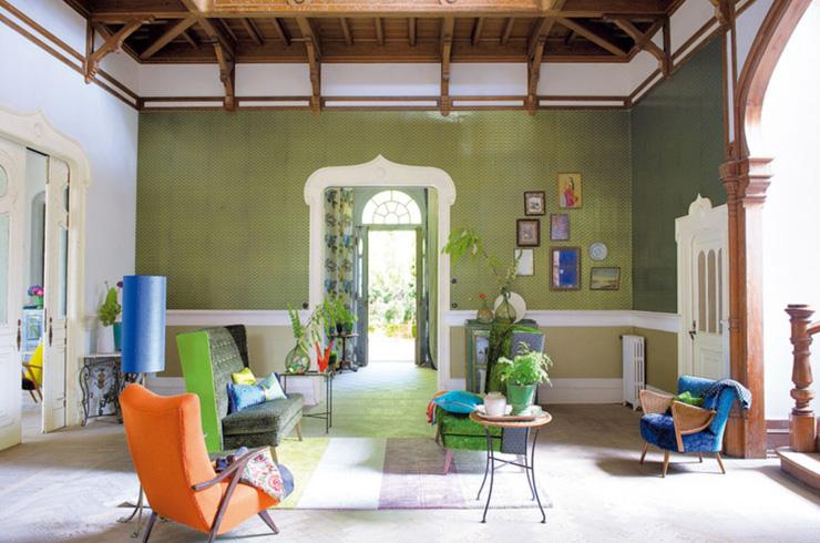 Tendencias de interiorismo 2013 años 50 El regreso de los años 50 verde