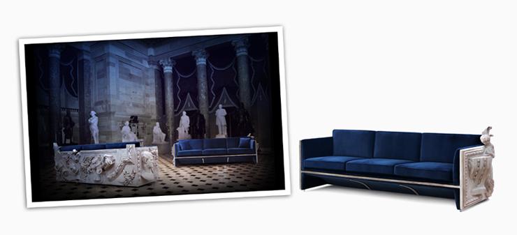 """""""La firma de mobiliario de lujo con un toque de vanguardia Boca do Lobo acaba de enviarnos su presentación del espectacular sofá Versailles.""""  Sofá Versailles de Boca do Lobo versailles luxury sofa design gallery 00"""