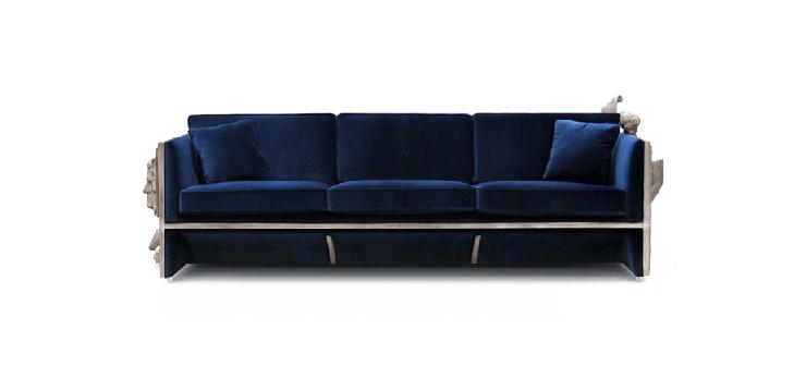 """""""La firma de mobiliario de lujo con un toque de vanguardia Boca do Lobo acaba de enviarnos su presentación del espectacular sofá Versailles.""""  Sofá Versailles de Boca do Lobo versailles luxury sofa design gallery 01"""