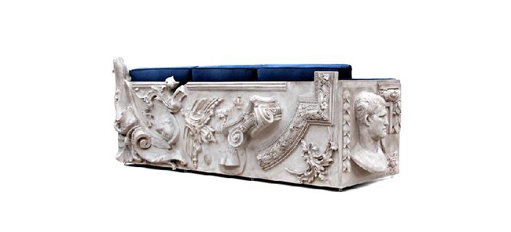 """""""La firma de mobiliario de lujo con un toque de vanguardia Boca do Lobo acaba de enviarnos su presentación del espectacular sofá Versailles.""""  Sofá Versailles de Boca do Lobo versailles luxury sofa design gallery 02"""