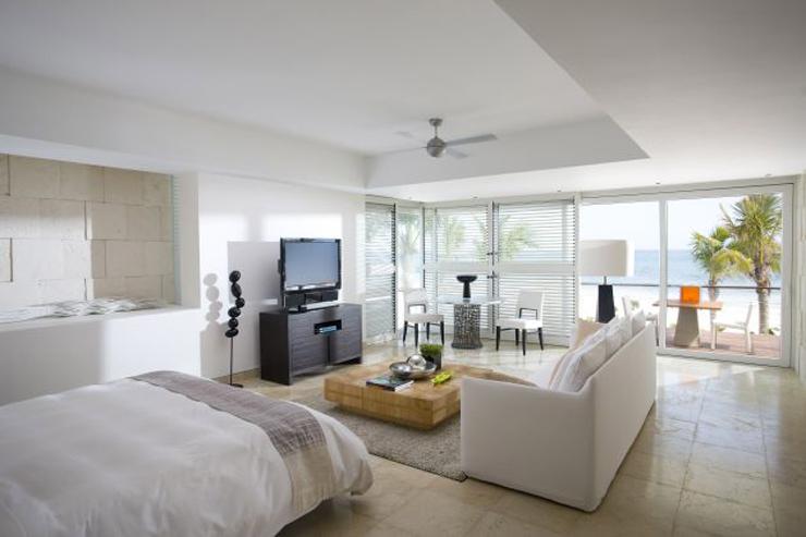 """""""El Mandarin Oriental Riviera Maya se distingue por sus habitaciones con diseño elegante y su excelente servicio.""""  Mandarin Oriental Riviera Maya MandarinOrientalRivieraMayaResort7"""