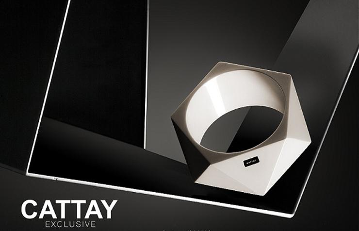 """""""Cattay Exclusive combina la mezcla de varios materiales nobles como el marfil de más de 15.000 años de antigüedad con el acero.""""  Cattay Exclusive cattay2"""