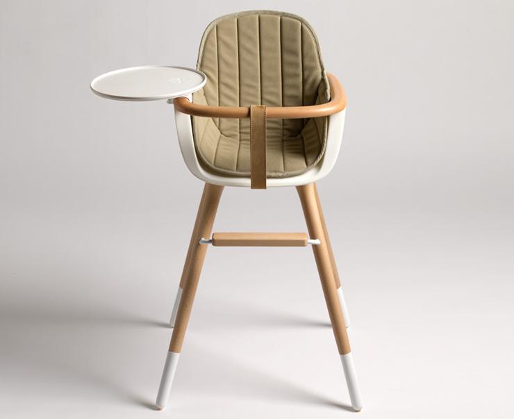 """""""El estudio CuldeSac ha diseñado para la firma de mobiliario infantil Micuna, la trona Ovo.""""  La trona Ovo para Micuna designaholic cuna ovo culdesac 03"""