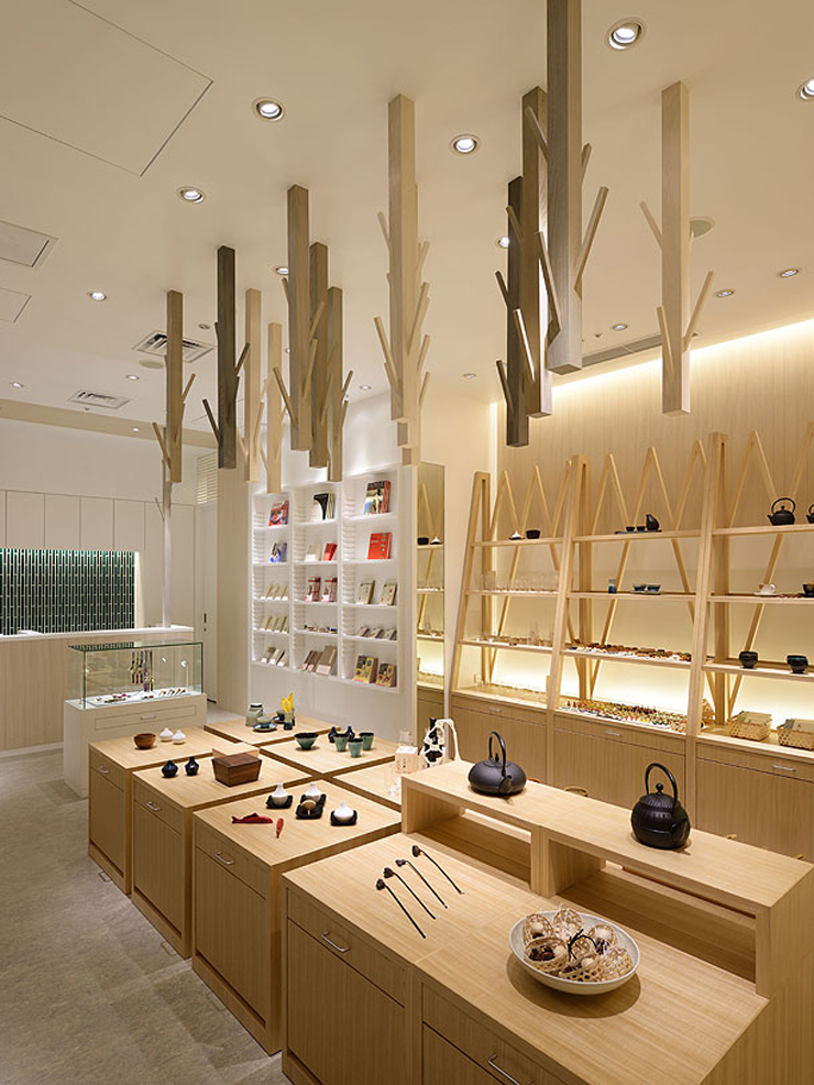 """""""Descripción de la composición de la nueva tienda de Masters Craft"""" Nueva Tienda Masters Craft masters craft palace hotel tokyo3"""