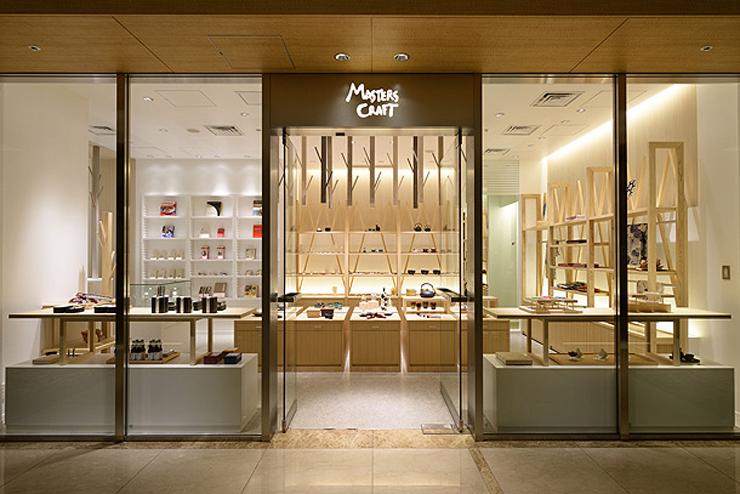 """""""Descripción de la composición de la nueva tienda de Masters Craft"""" Nueva Tienda Masters Craft masters craft palace hotel tokyo 1"""