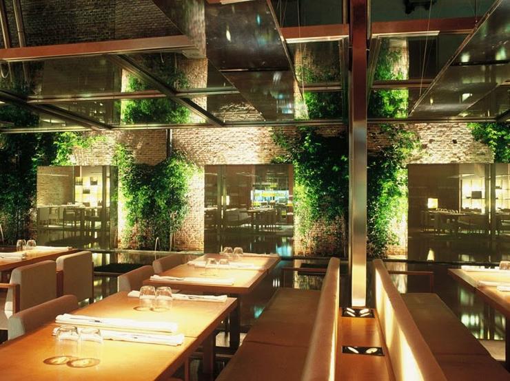 Restaurante pandelujo decorar una casa for Cocinas de restaurantes modernos