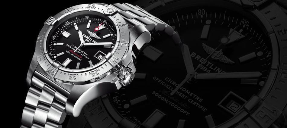 """""""El nuevo reloj presentado por Breitling; Sumergible hasta una profundidad de 3.000 metros""""  Breitling Avenger Seawolf Untitled 21"""