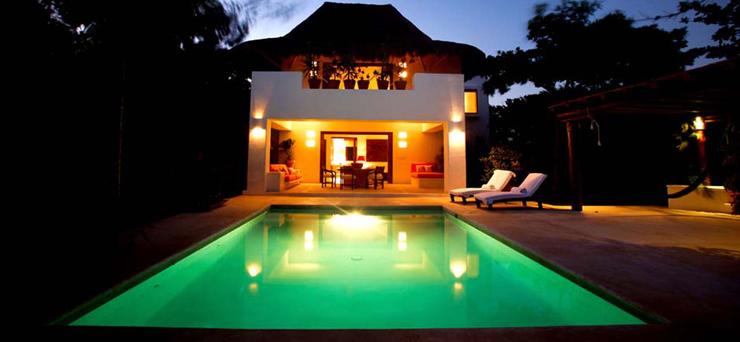 """""""Hotel Esencia, el refugio al lado del mar en la Riviera Maya, México"""" Hotel Esencia hotel esencia"""
